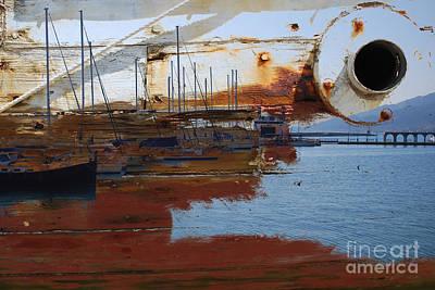 Photograph - Harbor 2 by Anna Shutt