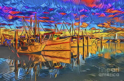 Photograph - Harbor 21118 by Ray Shrewsberry