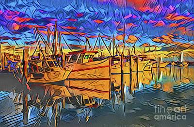 Photograph - Harbor 21118 by Ray Shrewsberry