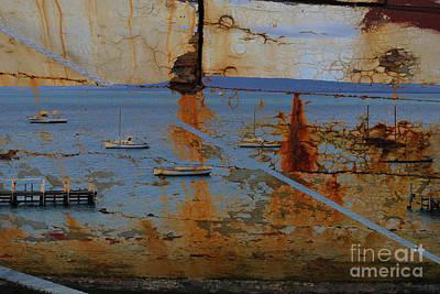 Photograph - Harbor 3 by Anna Shutt