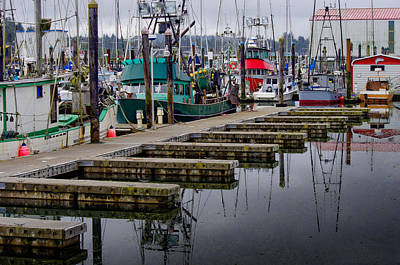 Photograph - Harbor by Adria Trail