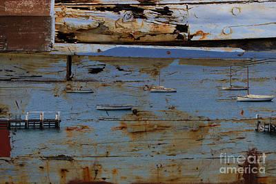 Photograph - Harbor by Anna Shutt