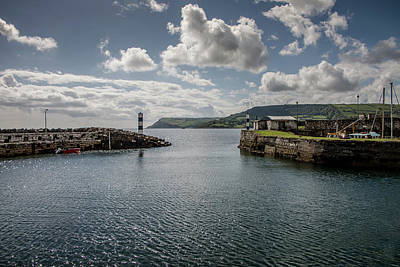 Photograph - Harbor At Carnlough by Teresa Wilson