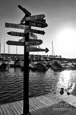 Photograph - Harbor At Sundown by Mark David Zahn Photography