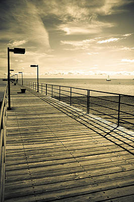Harbor Beach Michigan Boardwalk Art Print