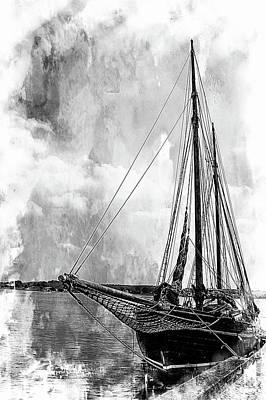 Photograph - Harbor Boat by Karen McKenzie McAdoo