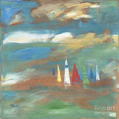 Sailing Painting - Harbor Boats II by Paul Brent