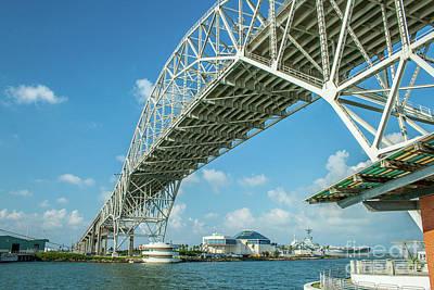 Photograph - Harbor Bridge by Tony Baca