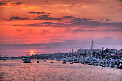 Photograph - Harbor Cruise by Eddie Yerkish