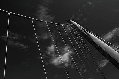 Photograph - Harbor Drive Bridge by Peter Tellone