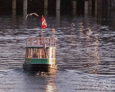 Photograph - Harbor Ferry by Cheryl Del Toro