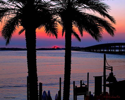 Photograph - Harbor Hues by Larry Beat