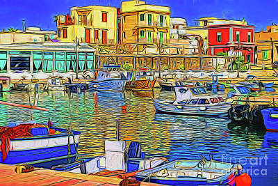 Photograph - Harbor II 13918 by Ray Shrewsberry
