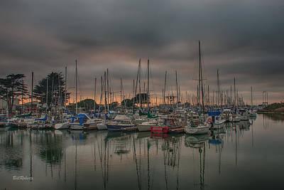 Moss Landing Photograph - Harbor Light by Bill Roberts