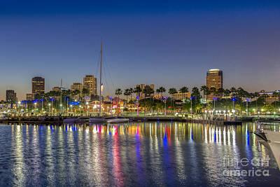 Photograph - Harbor Lights  by David Zanzinger