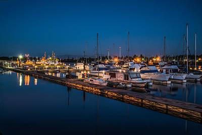 Photograph - Harbor Lights by Joe Hudspeth
