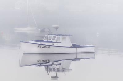 Mid-coast Maine Photograph - Harbor Mist   by Thomas Schoeller