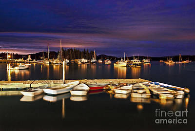 Antlers - Harbor Night by John Greim