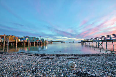 Photograph - Harbor Of Friendship Maine by Juergen Roth