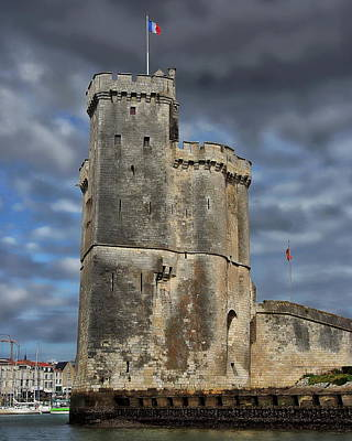 Photograph - Harbor Of La Rochelle by Anthony Dezenzio