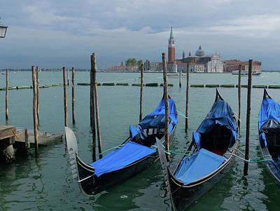 Photograph - Harbor Of Venice by S Paul Sahm