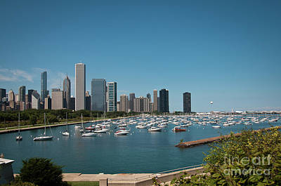 Photograph - Harbor Parking In Chicago by David Levin