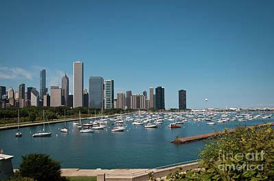 Harbor Parking In Chicago Art Print