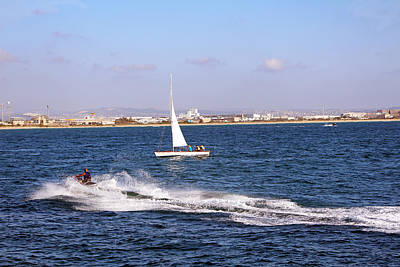 Photograph - Harbor Race by Munir Alawi