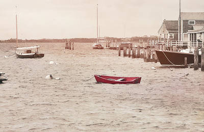 Photograph - Harbor Red by JAMART Photography