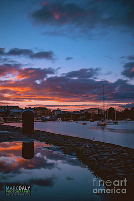 Photograph - Harbor Reflections by Marc Daly