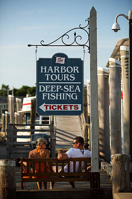 Photograph - Harbor Tours by Allan Morrison