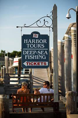Photograph - Harbor Tours by Allan Morrison