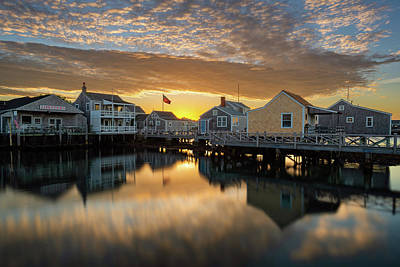 Photograph - Harbor View by Michael Blanchette
