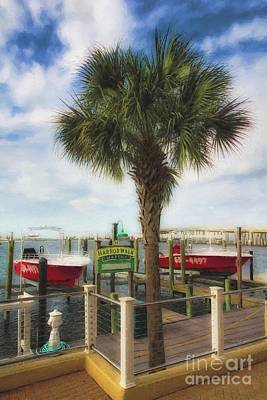 Photograph - Harbor Walk At Destin Florida # 2 by Mel Steinhauer