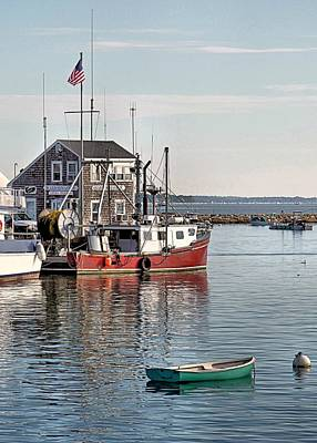 Harbormaster Shack Art Print