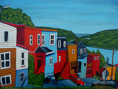 Painting - Harborview by Anthony Dunphy
