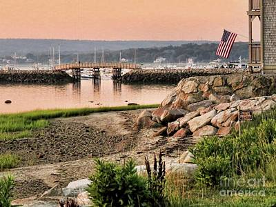 Photograph - Harborview Plymouth Ma by Janice Drew