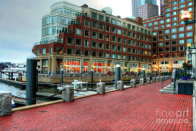 Photograph - Harborwalk by LR Photography