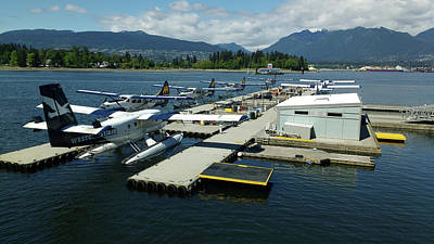Photograph - Harbour Air Vancouver by Mark Alan Perry