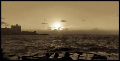 Photograph - Harbour, Alexandria, Egypt by Samuel Pye