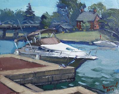 Harbour At North Tonawanda Art Print