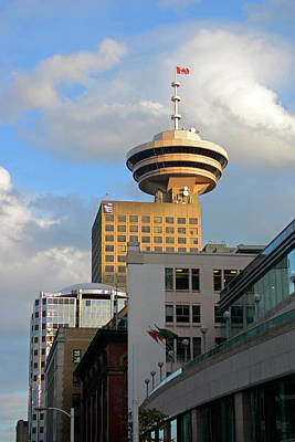 Photograph - Harbour Centre Tower Vancouver by Connie Fox