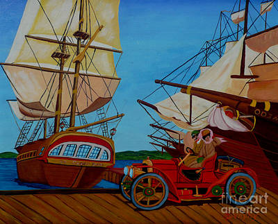 Painting - Harbour Drive by Anthony Dunphy