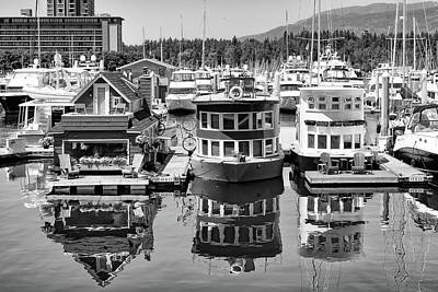Photograph - Harbour Houses by Chris Buff