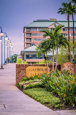Harbour Island Retreat Art Print