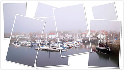 Anstruther Photograph - Harbour by John Fotheringham