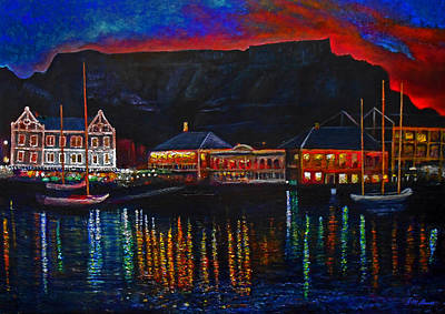 Victoria Painting - Harbour Lights by Michael Durst