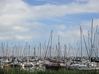 Photograph - Harbour Of Enkhuizen by Chani Demuijlder