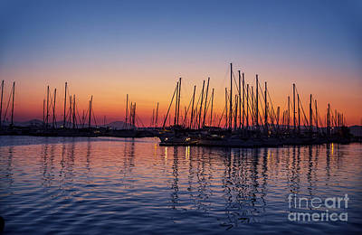 Photograph - Harbour On Sunset by Anna Om