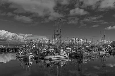 Photograph - Harbour Reflections by Inge Riis McDonald